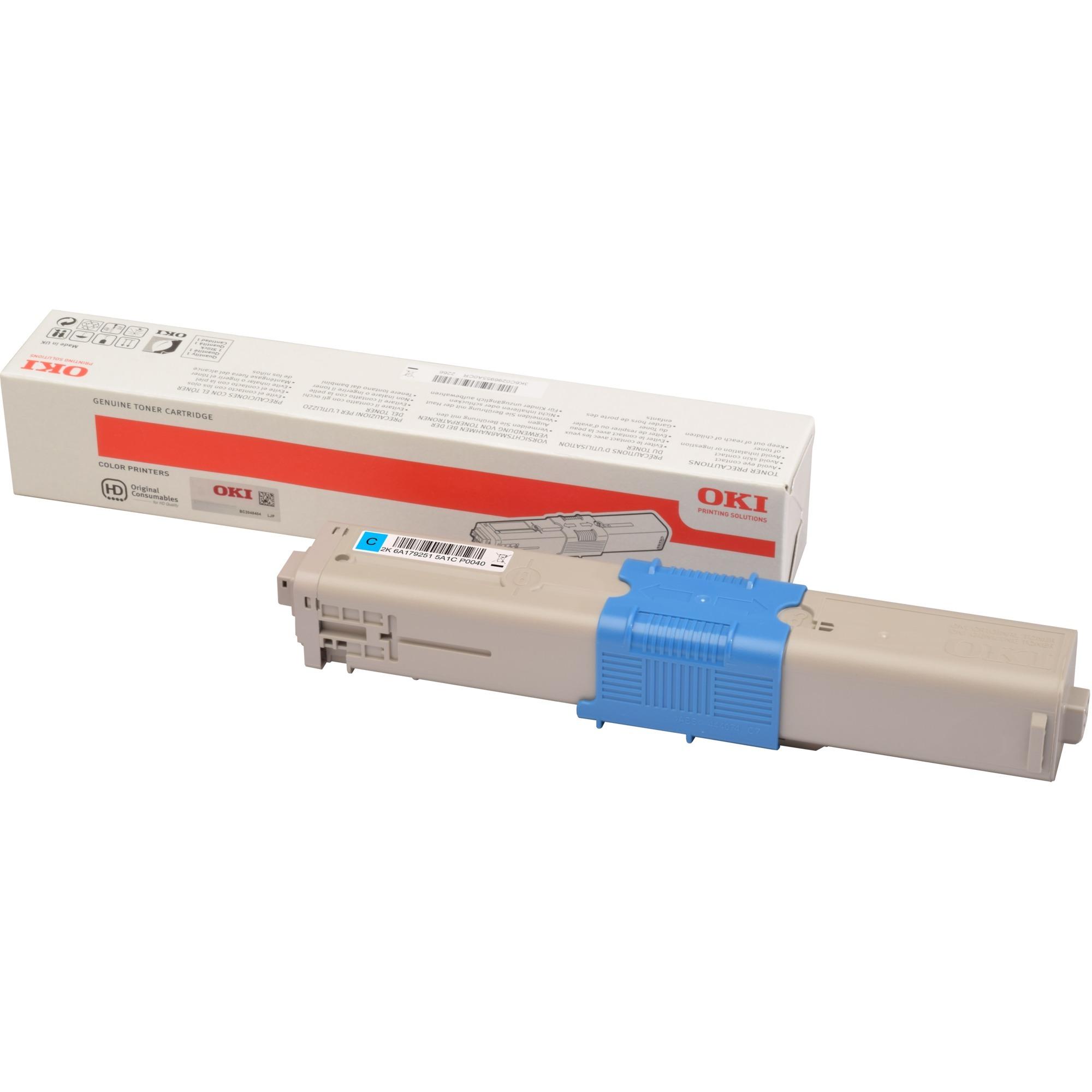 46508715 Toner laser 1500pages Cyan cartouche toner et laser