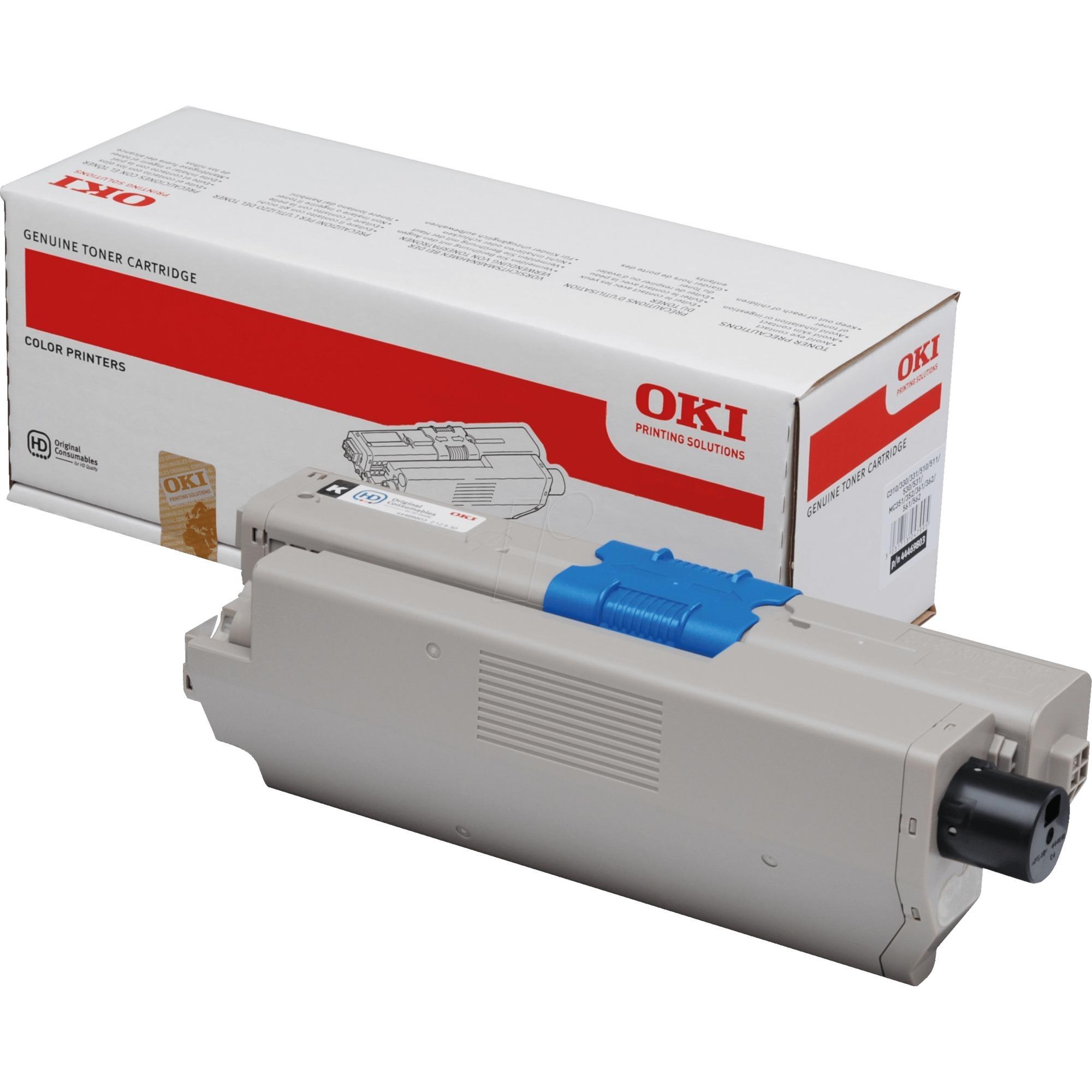 44469803 Toner laser 3500pages Noir cartouche toner et laser