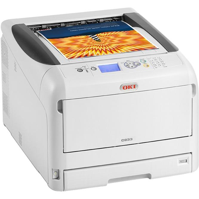C833dn Couleur 600 x 1200DPI A3, Imprimante LED