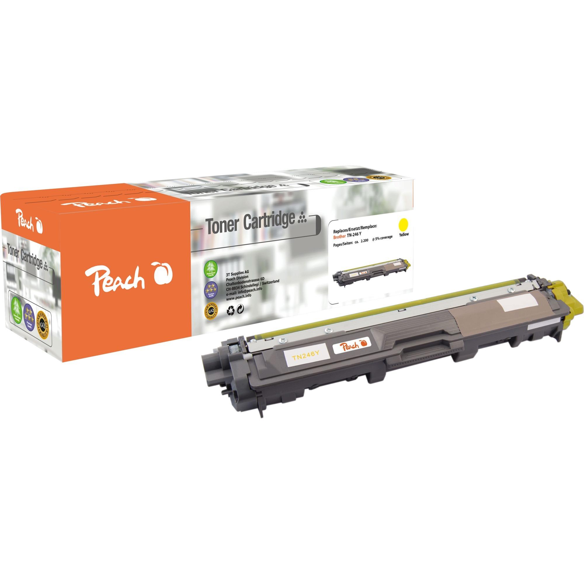 0F111928 Toner laser 2200pages Jaune cartouche toner et laser
