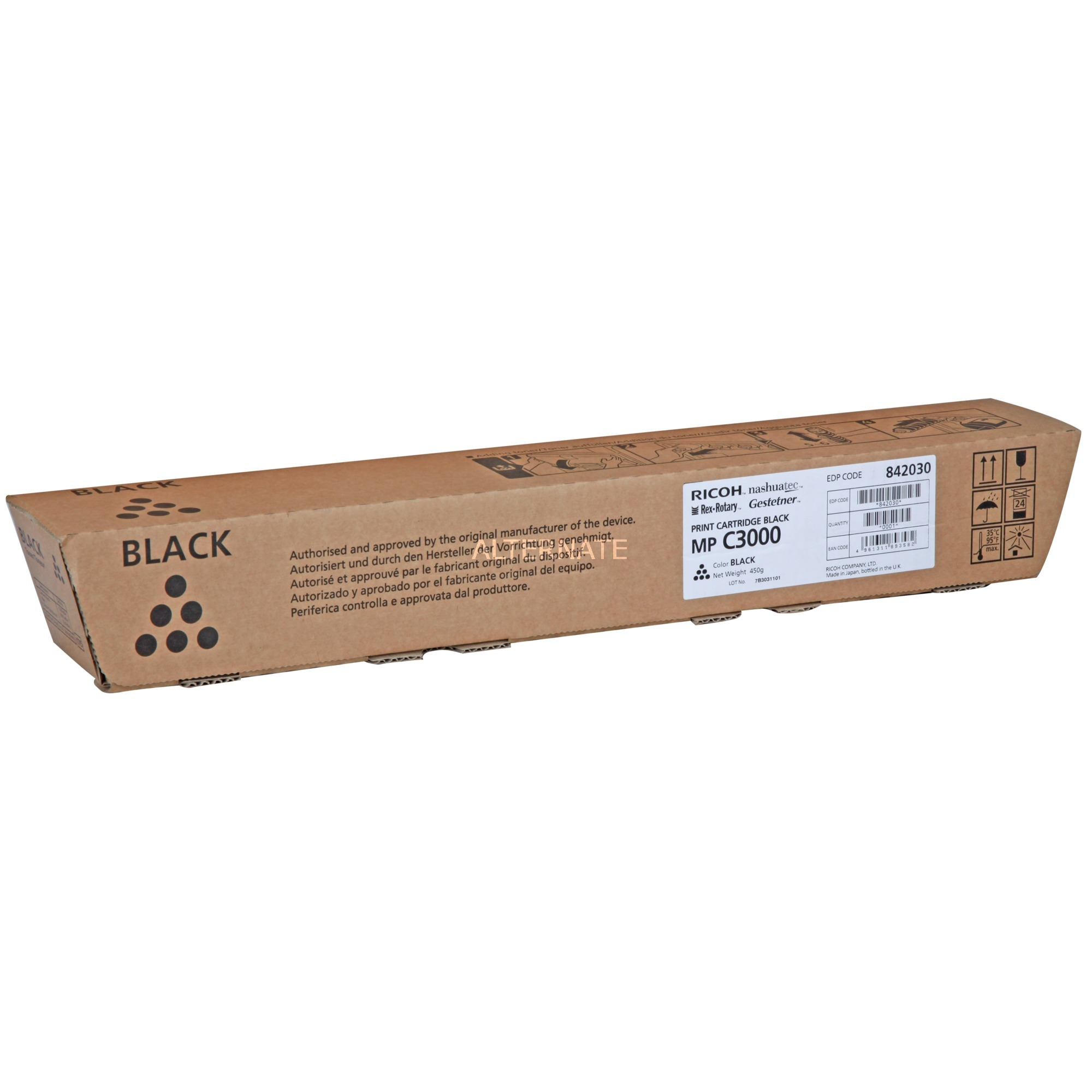 884946 Toner laser 20000pages Noir cartouche toner et laser