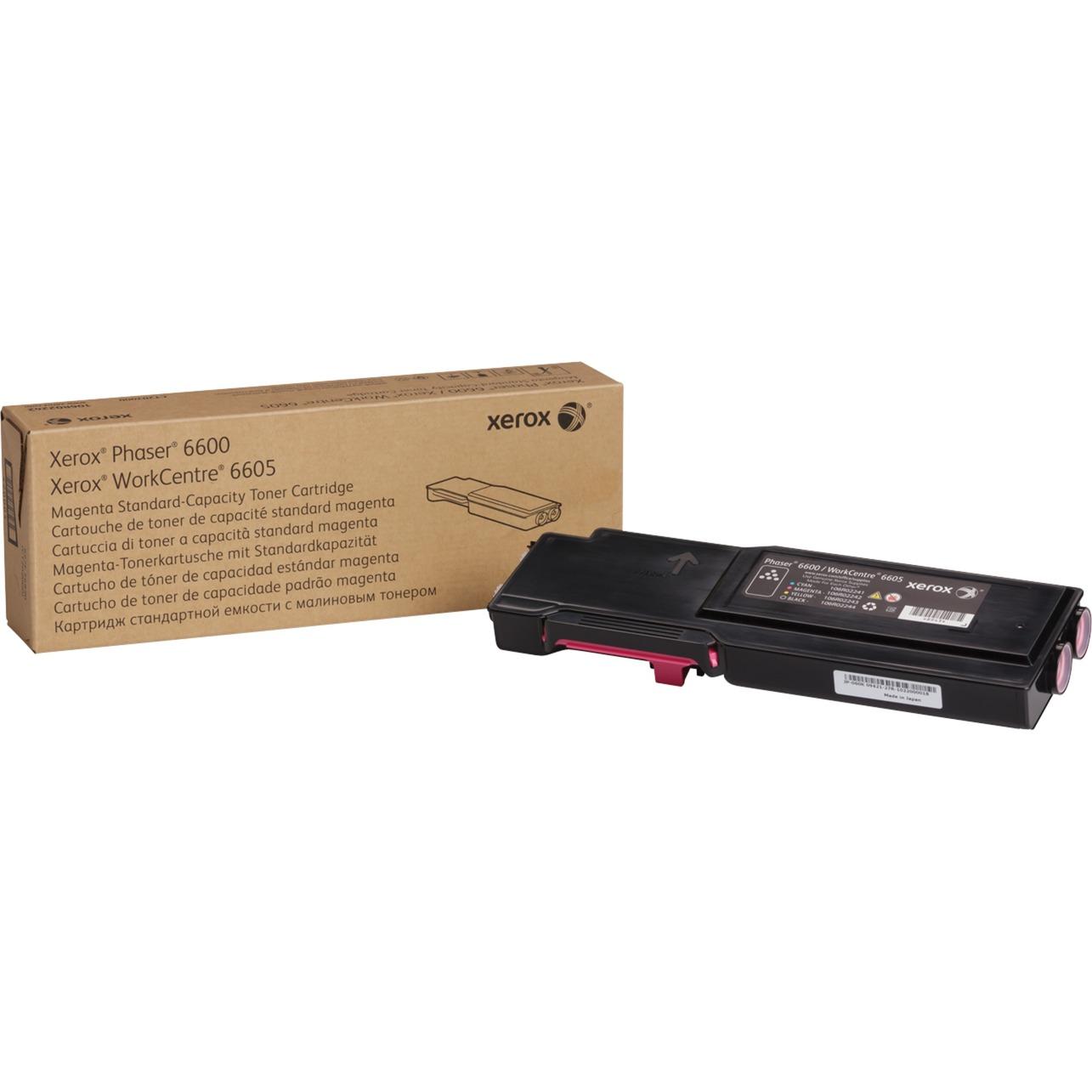 Cartouche de toner Magenta Phaser 6600/WorkCentre 6605 capacité standard (2 000 pages)
