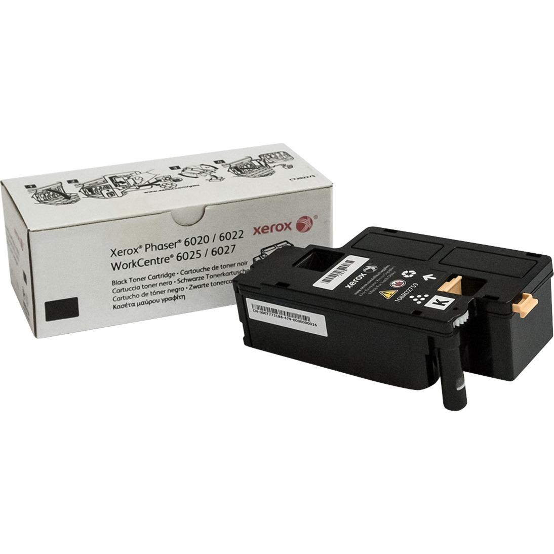 Cartouche de toner noir de capacité standard Phaser 6020/6022 WorkCentre 6025/6027 (2000 pages)