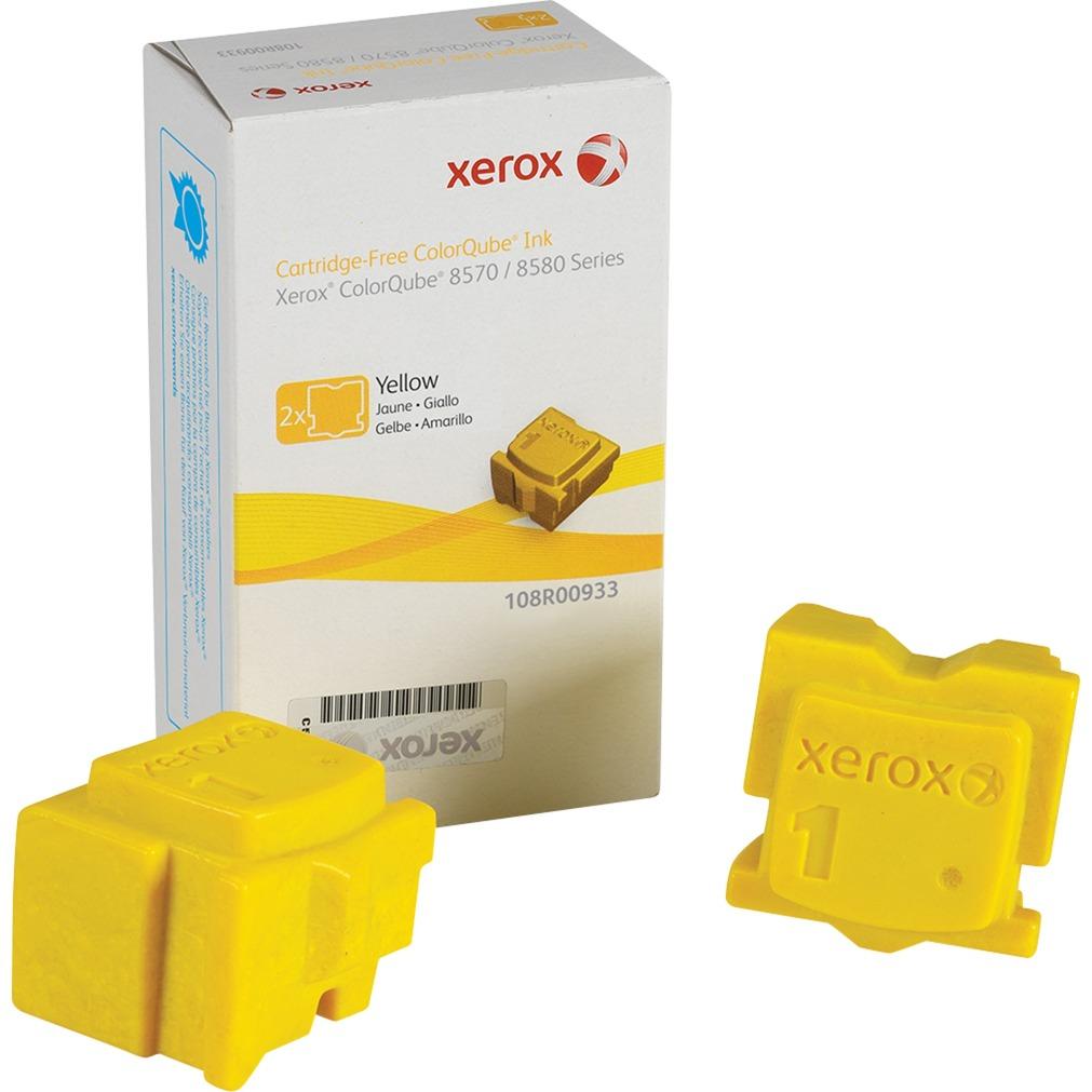 Encre ColorQube 8570, jaune (2 bâtonnets 4400 pages), Toner