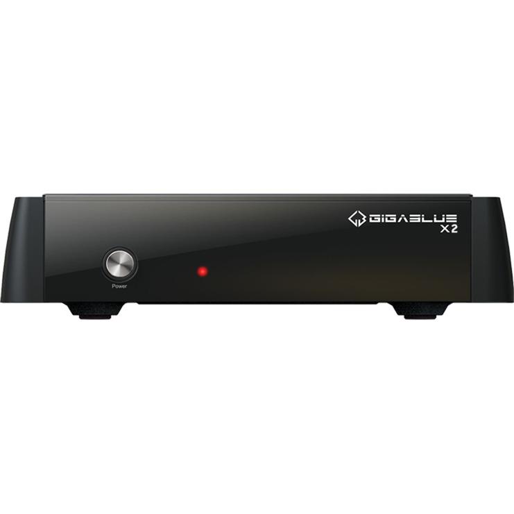 HD X2 Cable, Satellite, Terrestre Full HD Noir TV set-top boxe, Sat-/Kabel-/Terr.-Receiver