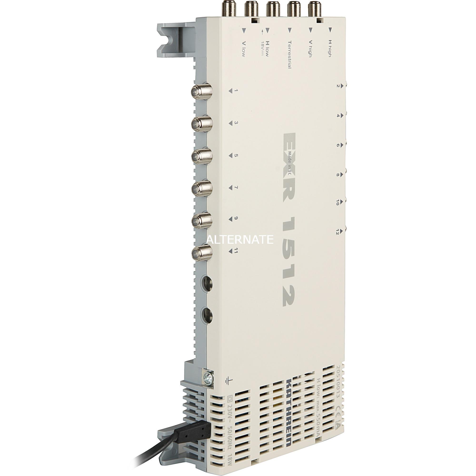 EXR 1512 Gris TV set-top boxe, Multi commutateur