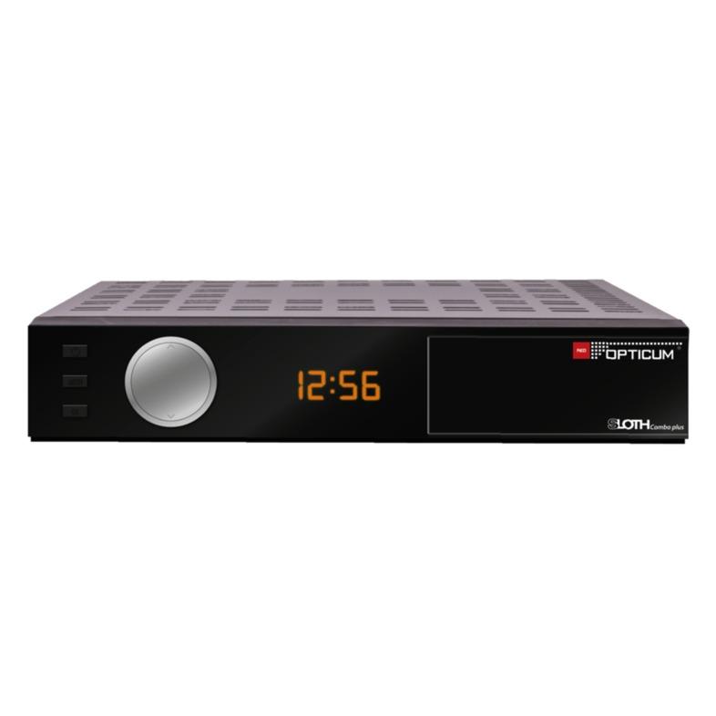 SLOTH Combo Plus Full HD Noir TV set-top boxe, Sat-/Kabel-/Terr.-Receiver