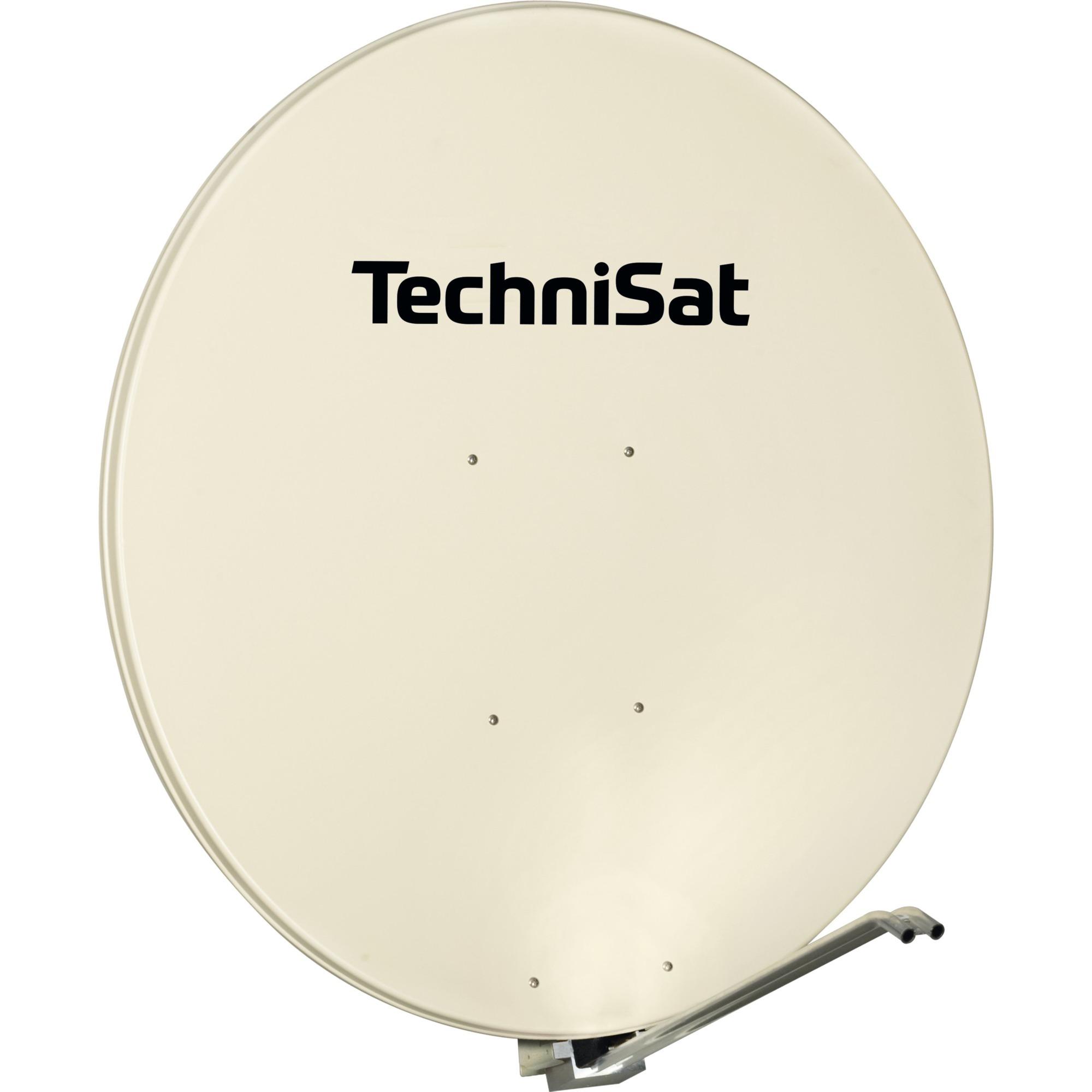 1200/1669 Beige antenne satellites, Antenne parabolique