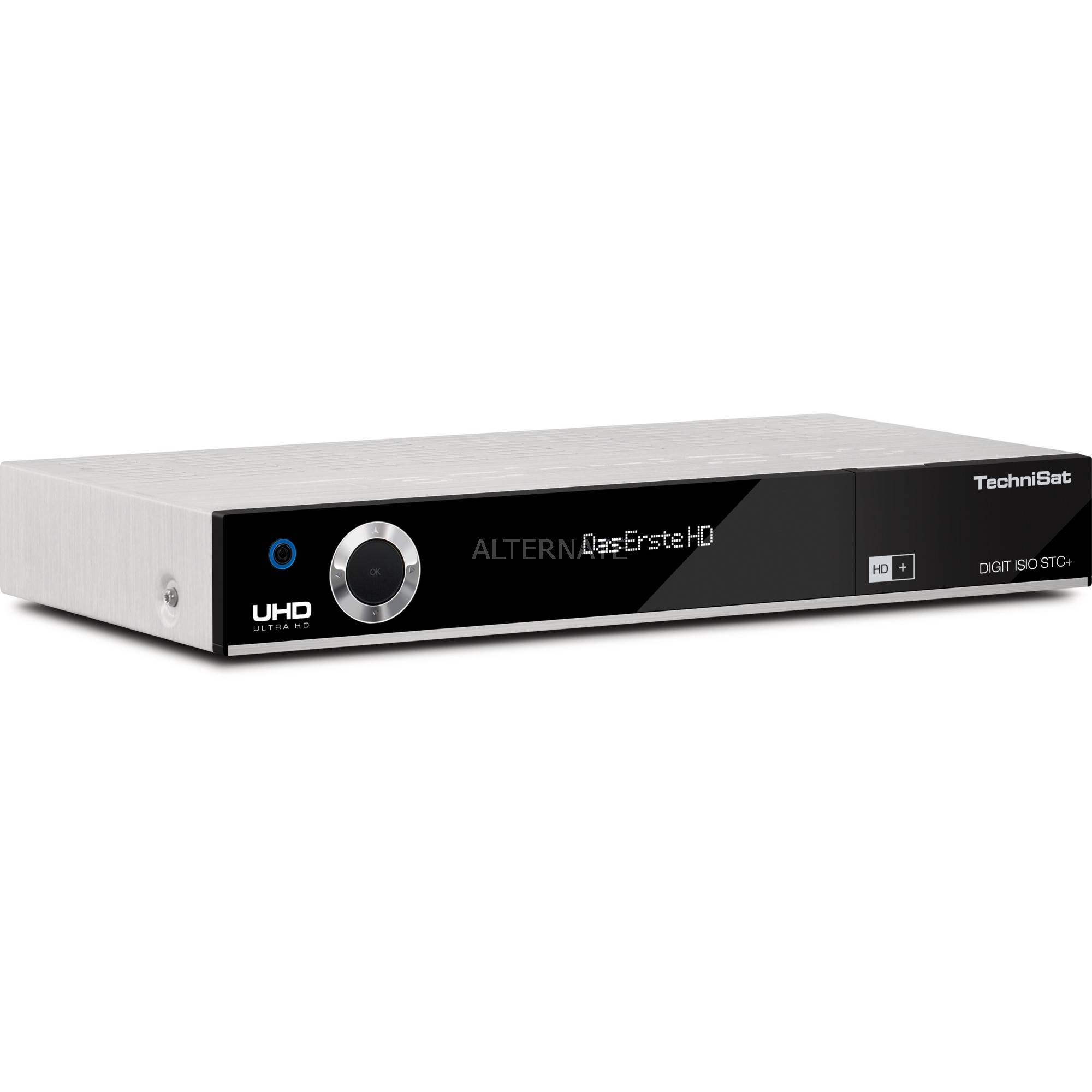 DIGIT ISIO STC+ Satellite Argent TV set-top boxe, Sat-/Kabel-/Terr.-Receiver