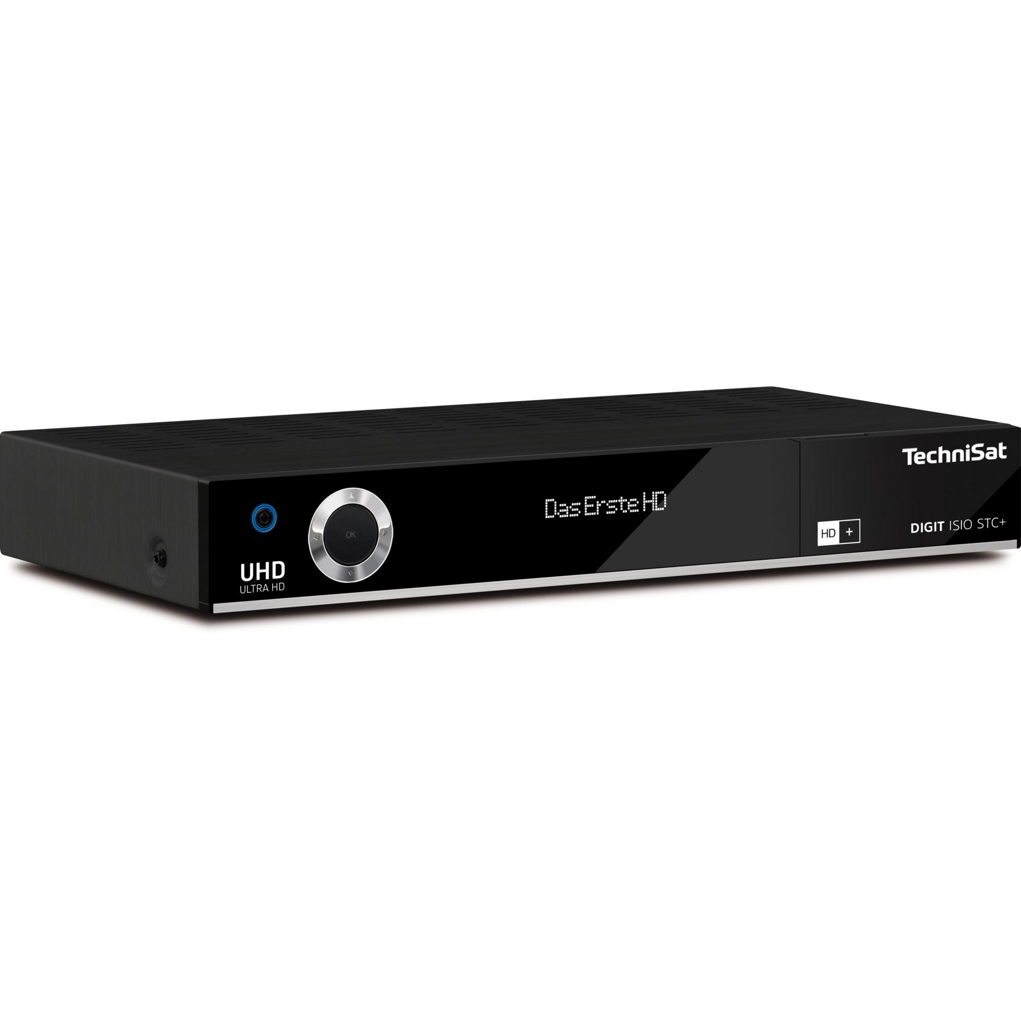 DIGIT ISIO STC+ Satellite Noir TV set-top boxe, Sat-/Kabel-/Terr.-Receiver