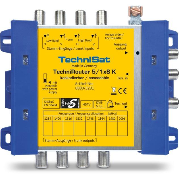 TechniRouter 5/1x8 G-R, Multi commutateur