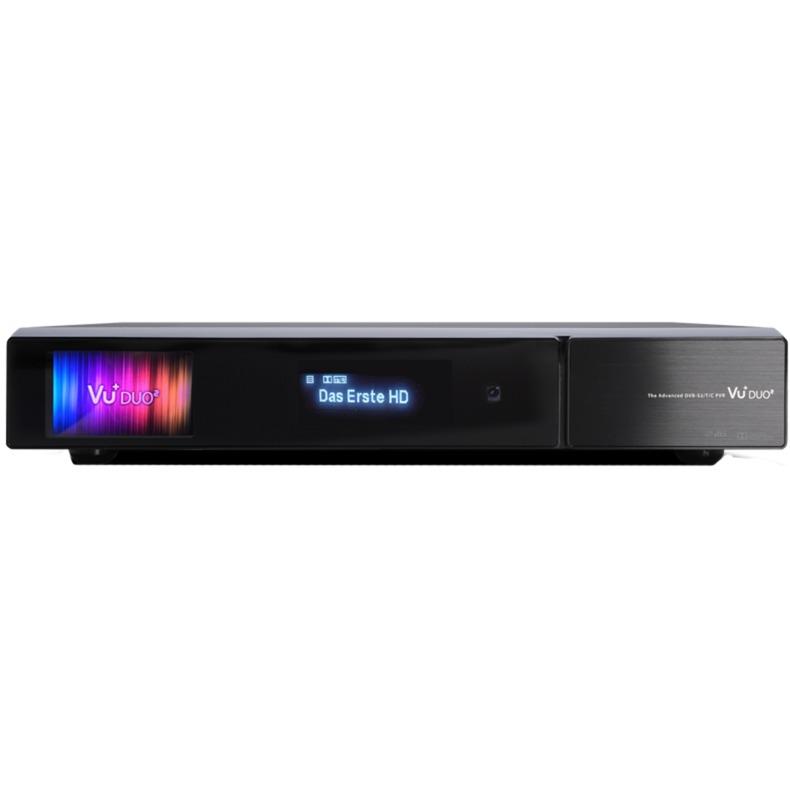 DUO2 Satellite Full HD Noir TV set-top boxe, Câble / TERR-récepteur