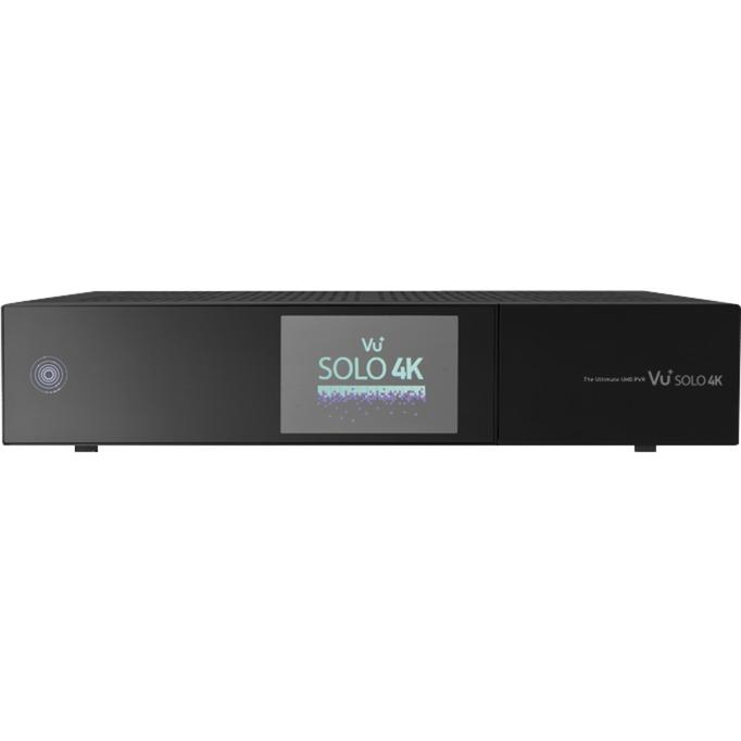 Solo 4K Terrestre Full HD Noir TV set-top boxe, Récepteur satellite