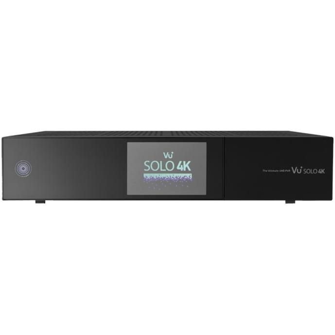Solo 4k Cable,Ethernet (RJ-45),Satellite Full HD Noir TV set-top boxe, Sat-/Kabel-/Terr.-Receiver