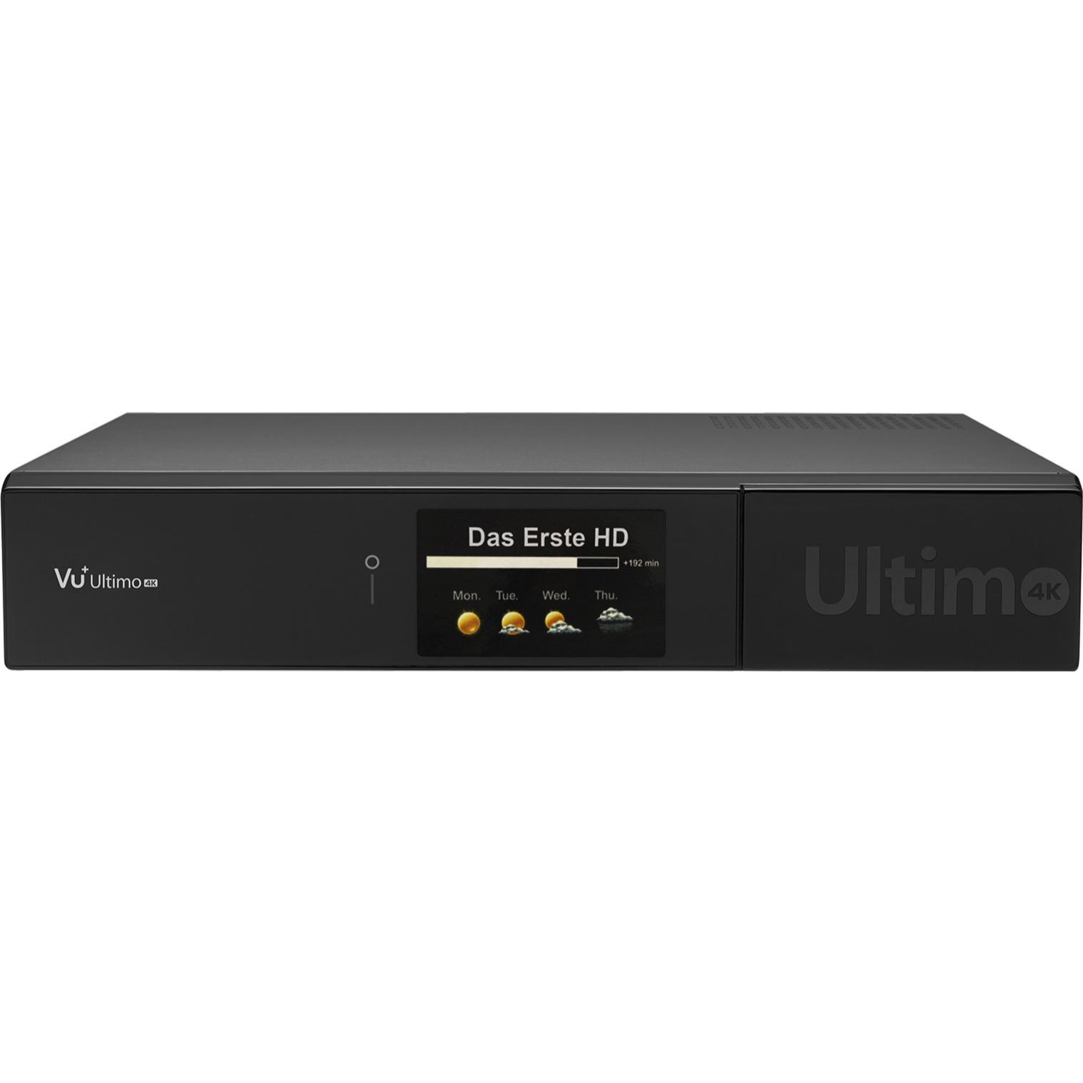 Ultimo 4K Satellite Full HD Noir TV set-top boxe, Récepteur de câble / satellite