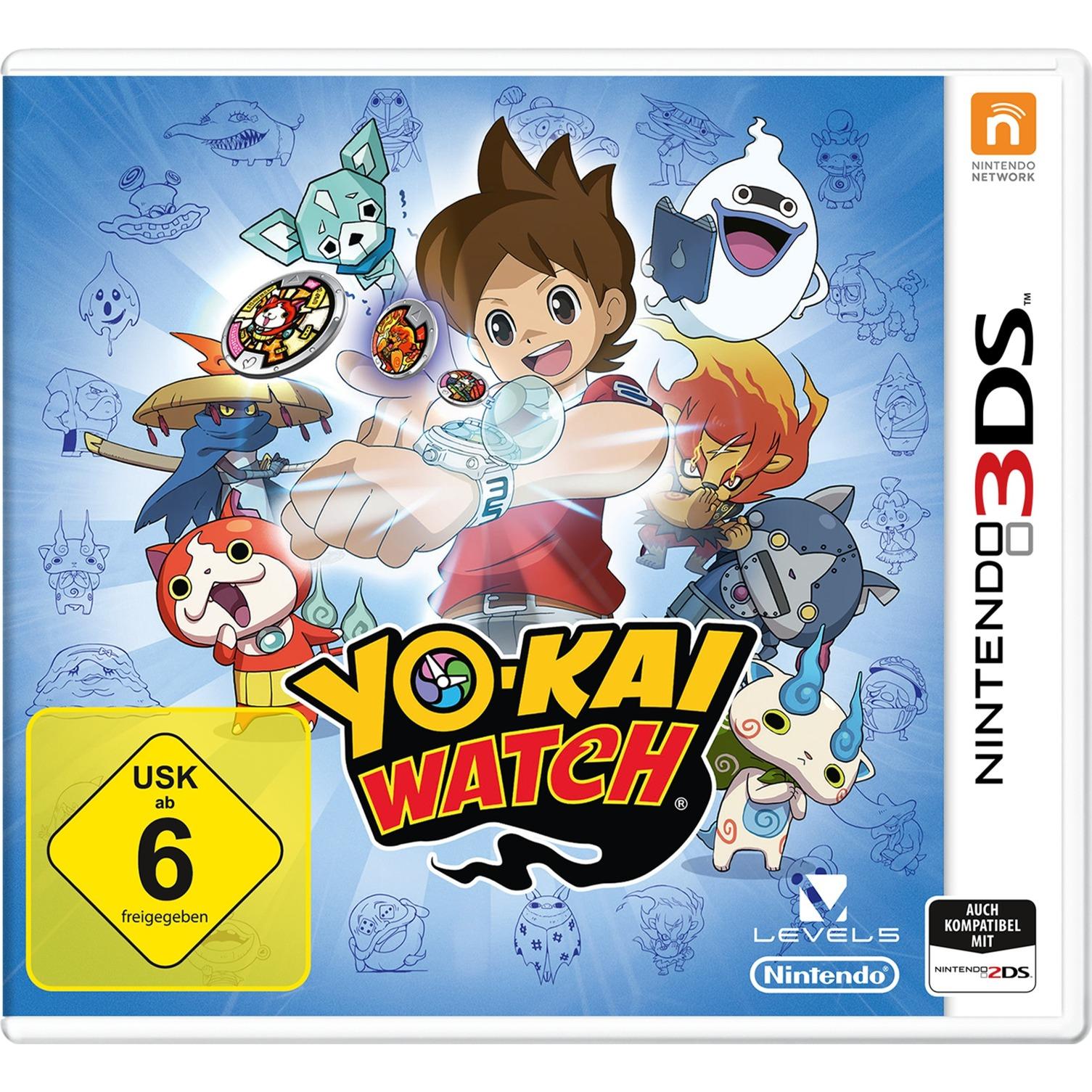 YO-KAI WATCH De base Nintendo 3DS Anglais jeu vidéo